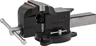 A90045 Тиски слесарные поворотные, 125 мм