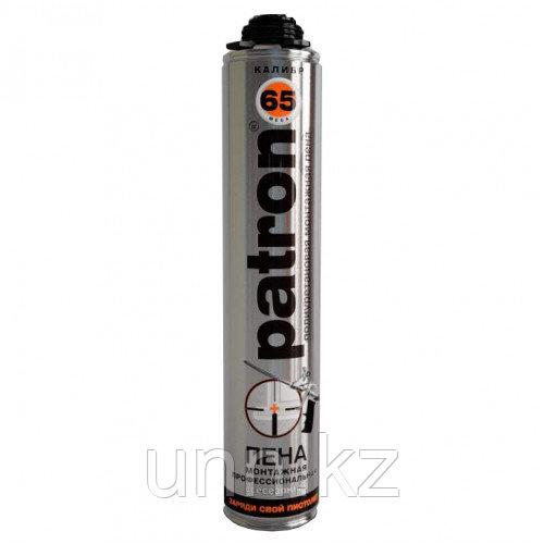 Пена монтажная всесезонная PATRON Mega калибр 65 875 мл. PRO