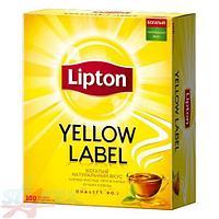"""Чай черный пакетированный """"Lipton"""" (1пач*100пак)"""