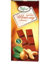 Шоколад горький с кешью на сорбите Bifrut, 100 г