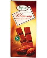 Шоколад темный классический на сорбите Bifrut, 100 г