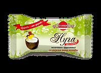Конфеты «Нуга молочная с фруктозой со вкусом пина колады» фасовка 180 г
