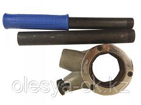 Трещотка для клуппов с удлинителем СИБРТЕХ 77373, фото 2