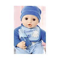 Zapf Creation Baby Annabell Бэби Аннабель Кукла-мальчик многофункциональная, 43 см