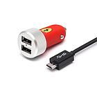 Универсальное USB зарядное устройство Ferrari