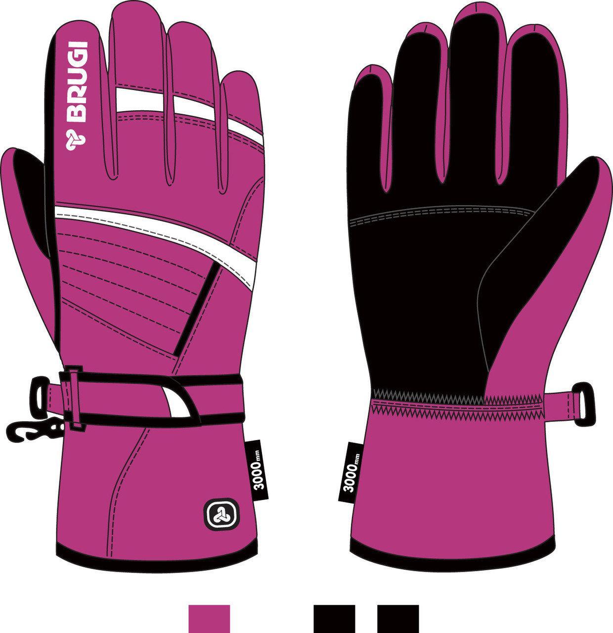 Brugi  перчатки женские