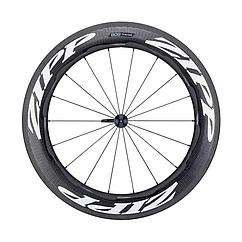 Zipp  колесо переднее 808 Carbon Clincher Rim Brake 700c 18-spokes QR white decals