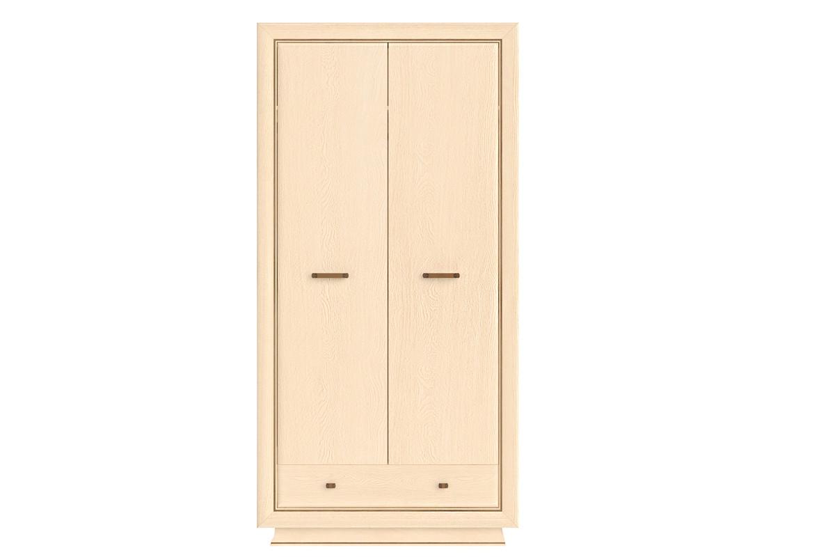 Шкаф для одежды 2Д  (Alveo SZF2D1S), коллекции Альвео, Ясень Античный, BRW-Украина (Украина)