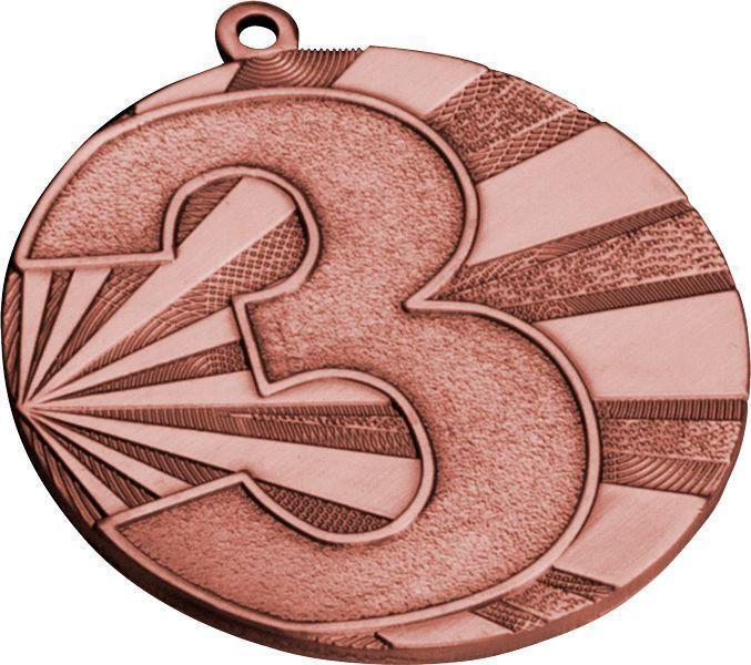 Медаль спортивная MMC7071 - фото 3