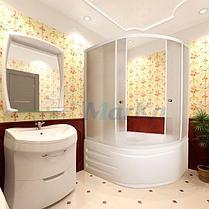 Акриловая гидромассажная ванна Диана 170х105х65 см.(Общий массаж, NANO), фото 3