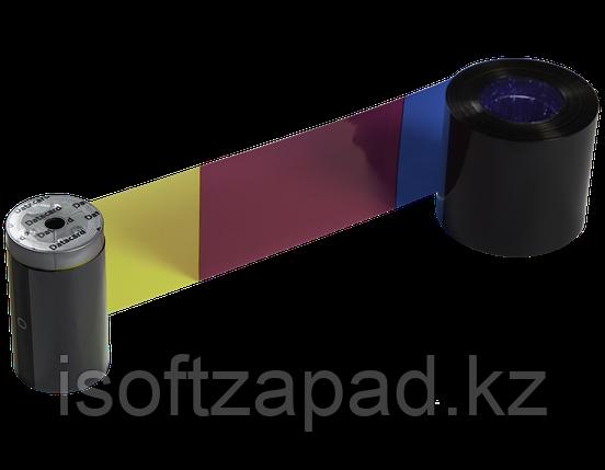 Красящая лента  для принтера DataCard SD160 Color Ribbon, YMCK-K, фото 2