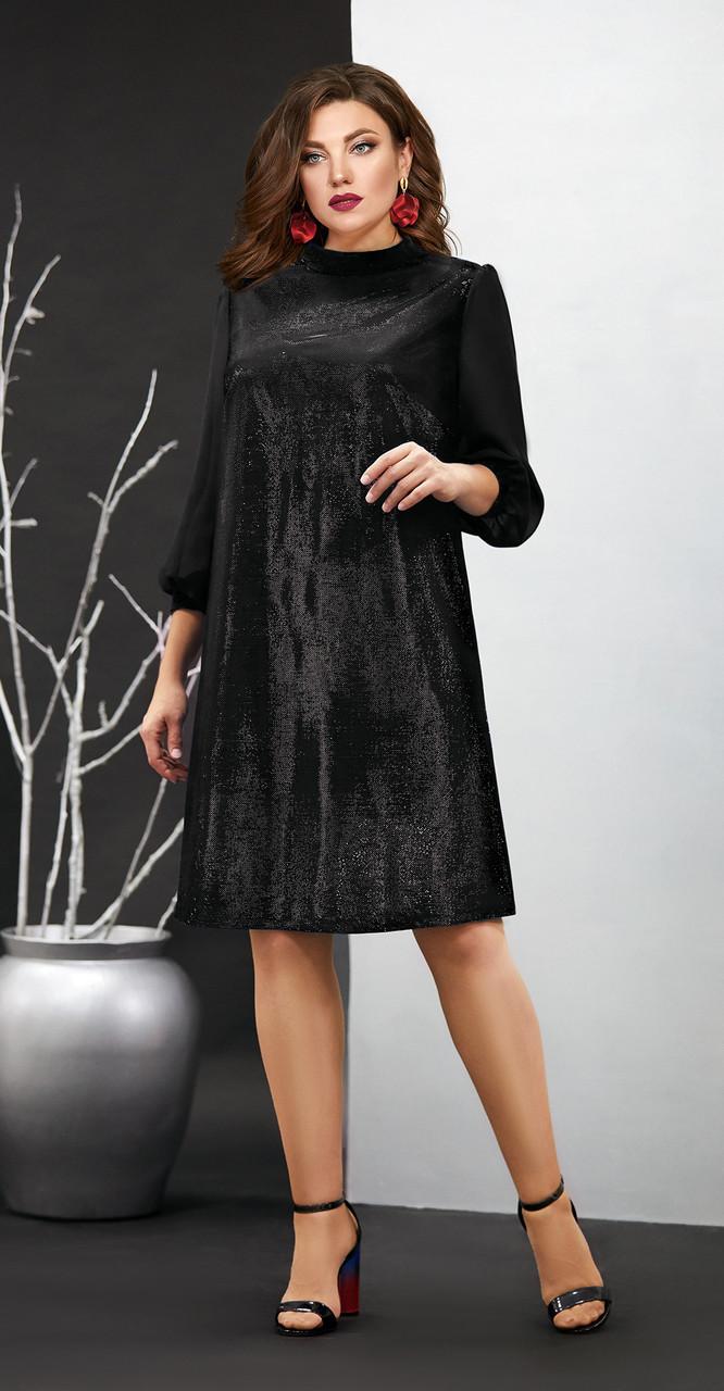 Платье Мублиз-407/1, черный, 46