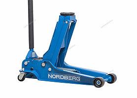 NORDBERG ДОМКРАТ N32035 подкатной, грузоподъемность 3,5 тонн, подхват 100 мм, выс.подъема 565 мм