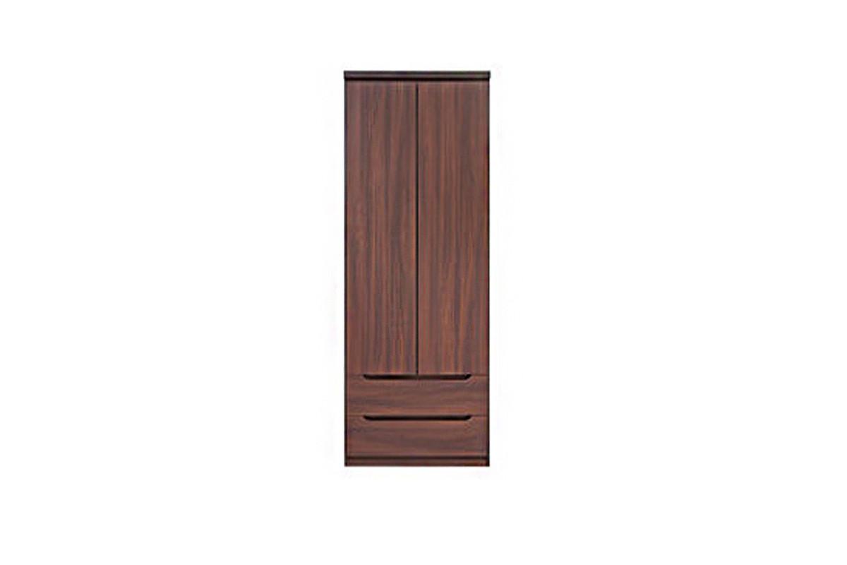 Шкаф для одежды 2Д  (SZF2D2S), коллекции Джули, Акация Мали бронза, BRW-Украина (Украина)