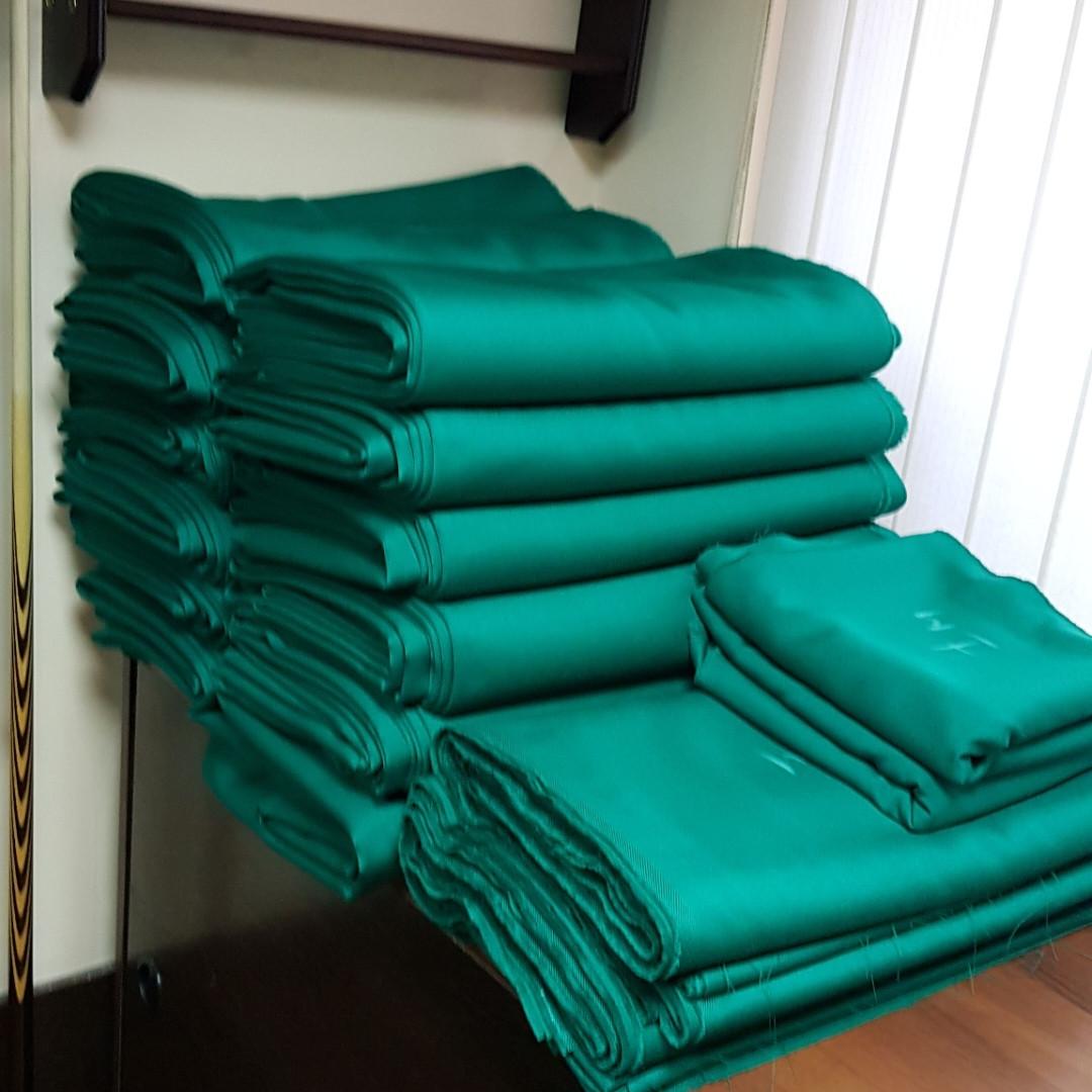 Сукно для бильярдного стола, 60% шерсти, 40% акрил, плотность 350г/м. Турция