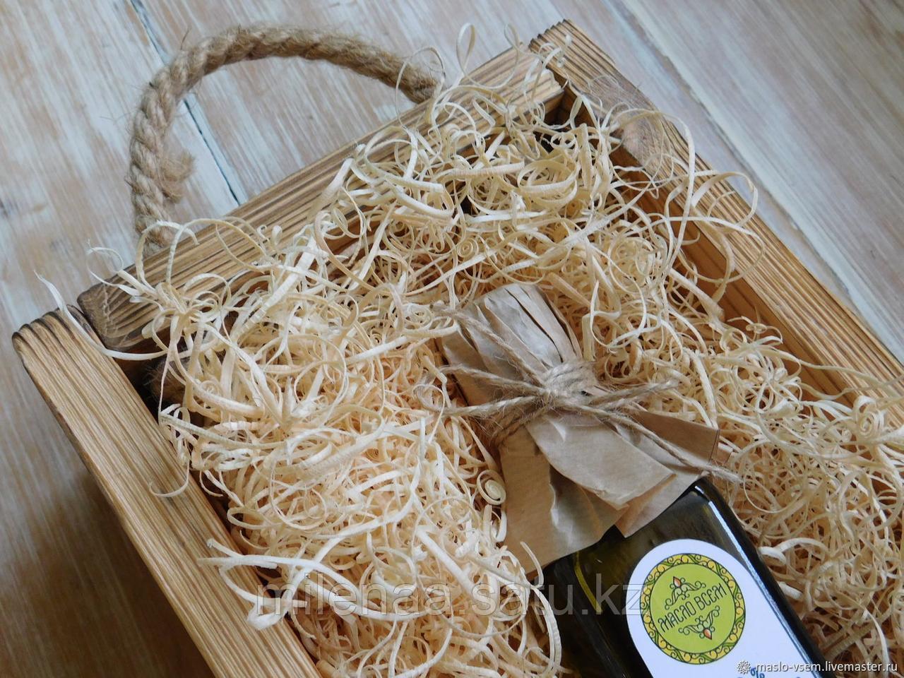 Солома натуральная  для подарков в Алматы