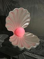Декоративная ракушка из пенопласта на заказ