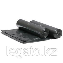 Мешок д/мусора 30л, 50*60см, ПВД, 30мкм, черный 30шт/рул 50рул/кор Асс-Пак