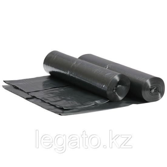 Мешок д/мусора 160л, 30мкм, ПВД, черный, КОМПАКТ 10шт/рул 20рул/кор