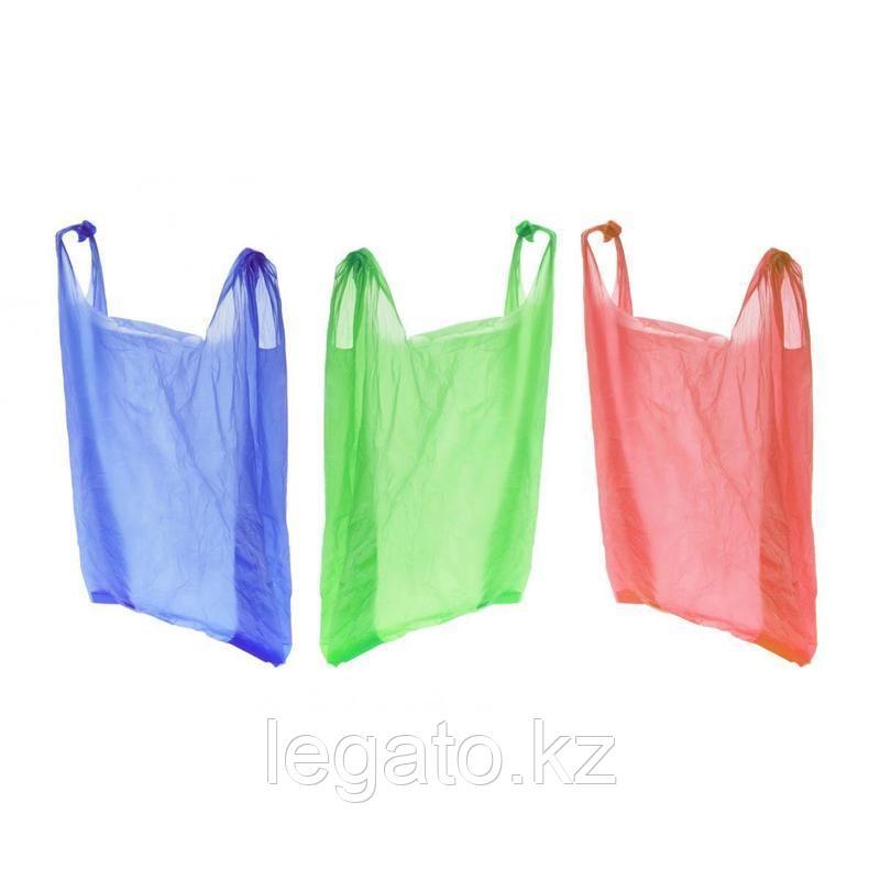 Пакет (майка) Радуга цвета в ассортименте ПНД 30*50 50 шт/пач., 80 пач./меш.