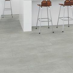 ПВХ-плитка Quick Step Ambient Click Бетон Теплый Серый AMCL40050