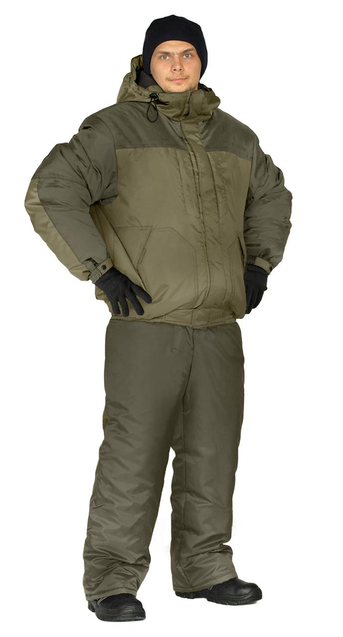 Костюм зимний «вихрь» куртка/полукомб.