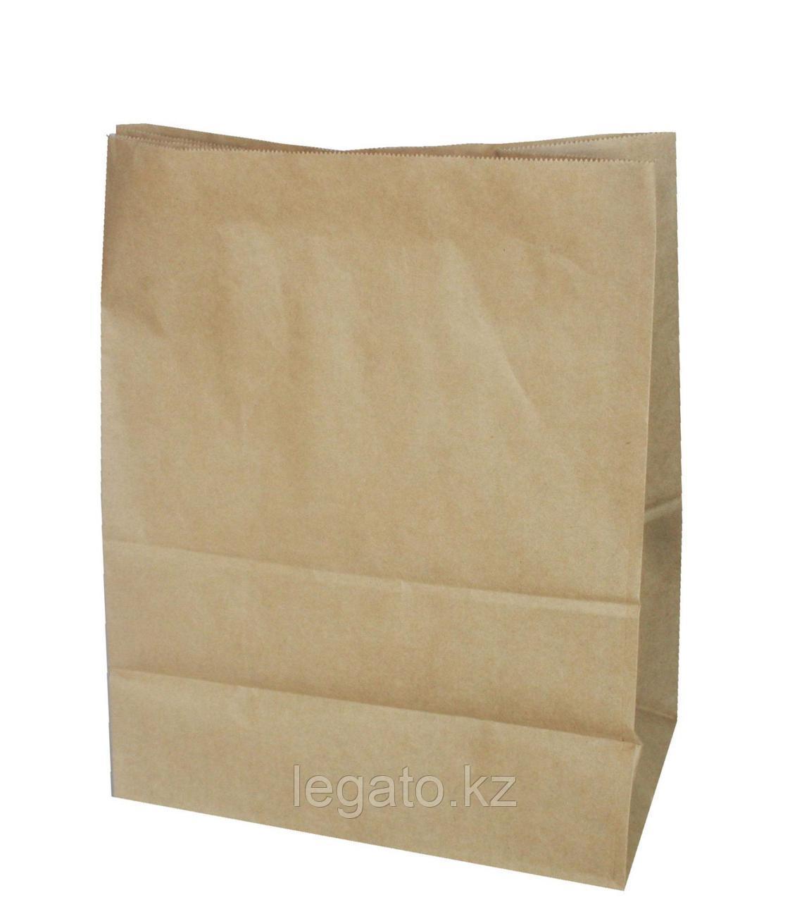 Пакет бумажный 330*200*90 б/п,крафт 1000шт/уп 1200шт/кор
