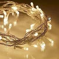 Гирлянды светодиодные, новогодние, уличные СТРУНА ,НИТЬ, twinkle light. 10 м. мигающая/не соединяется