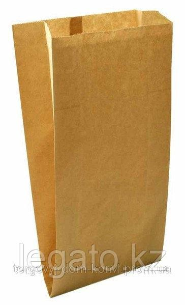 Пакет бумажный V дно 300*170*70(100шт/уп) Крафт без рисунка Б/П 3000 шт/кор