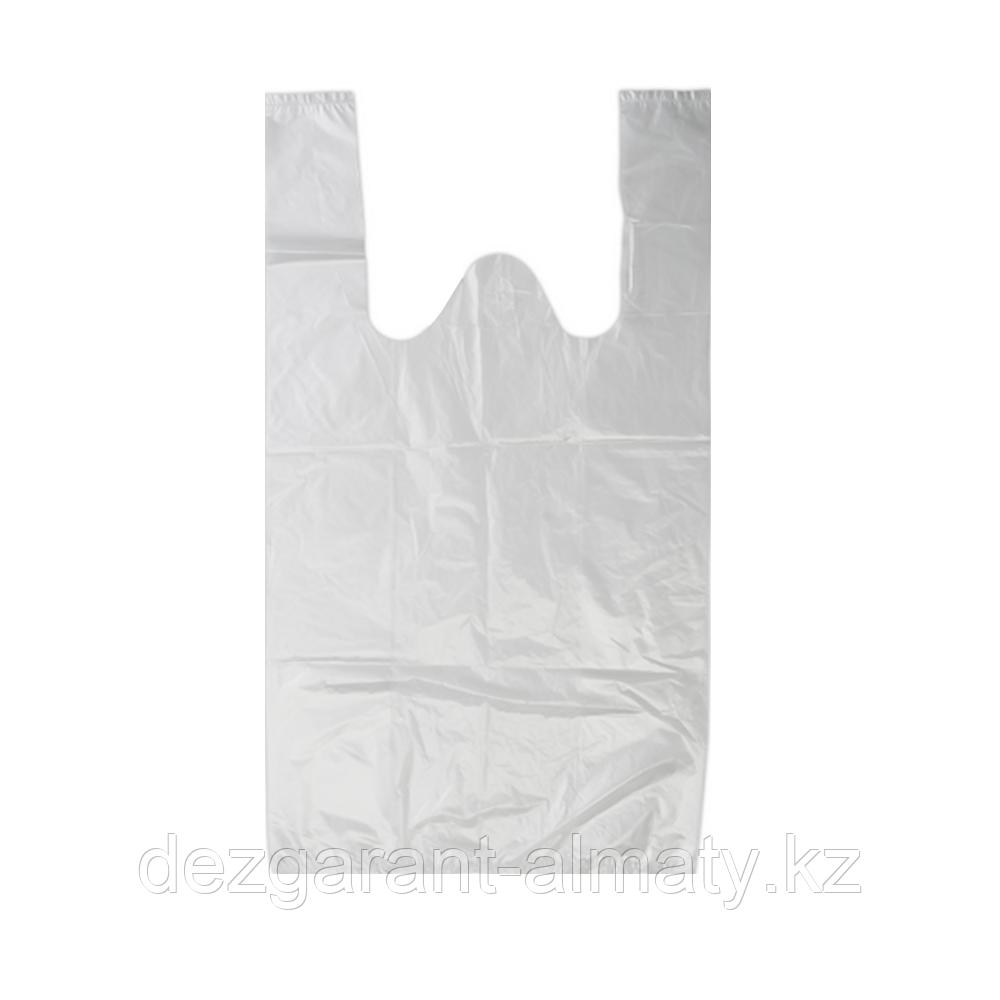Пакет майка 25*45 прозрачный (рулон 160 шт)