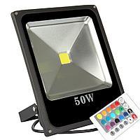 Светодиодный LED прожектор RGB 50 W