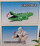 Конструктор Zuanma DINOSAUR аналог лего LEGO Jurassic World  динозавры Мир юрского периода 049-1, фото 5
