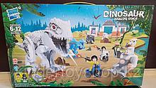 Конструктор Zuanma DINOSAUR аналог лего LEGO Jurassic World  динозавры Мир юрского периода 049-1