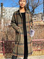 Кашемировое пальто женское