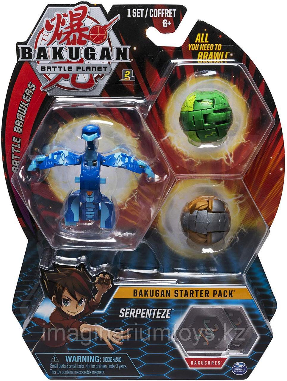 Бакуган стартовый набор Bakugan Serpenteze