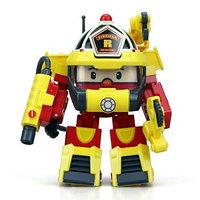 Robocar Poli Рой трансформер в костюме супер пожарного, 10 см