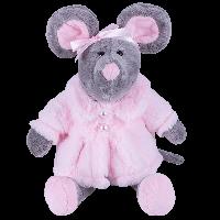 SOFTOY Мягкая игрушка Мышь в шубе