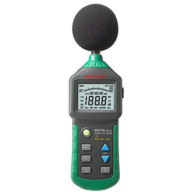 Шумомер цифровой Mastech MS6700 (Внесен в реестр СИ РК)