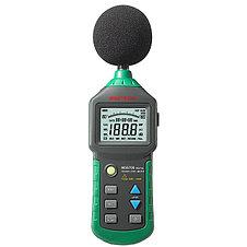 Шумомер Mastech MS6700 (30-130 dB) в пыле и влагозащищённом прорезиненном корпусе.  (Внесен в реестр СИ РК), фото 2