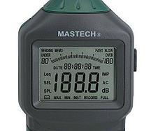 Цифровой измеритель уровня шума (шумомер) Mastech MS6700., фото 2
