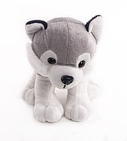 "Мягкая игрушка ""ButtonBlue"", Собака Хаски Грей, 17 см."