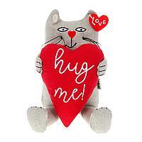 Кот «Обними меня» сидячий, 25 см