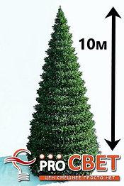 Искусственная каркасная елка Астана, хвоя-пленка 10м (диаметр 4.4м)