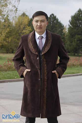 Осенний мужской пальто