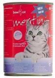 Bewi Cat Meatinis FISH 400 гр. Рыба влажный корм для взрослых кошек, фото 1
