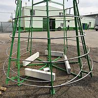 Искусственная каркасная елка Астана, хвоя-пленка 23м (диаметр 10м), фото 7