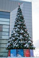 Сосны искусственные искусственная ель, елки искусственные, елки из пвх леска 3 м (диаметр 1.3 м), фото 7