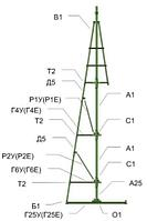 Сосны искусственные, елки искусственные из пвх леска 4 м (диаметр 1.7 м), фото 6