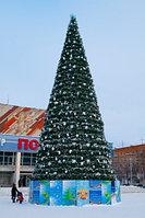 Сосна искусственная, елки искусственные из пвх леска 11 м (диаметр 4.8 м), фото 9