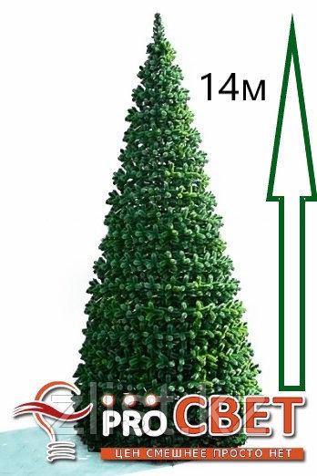 Сосна искусственная, елки искусственные из пвх леска 14 м (диаметр 6.1 м)